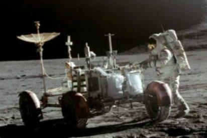 ¿Qué hacen en la Luna varias bolsas de orina y retratos de familiares?