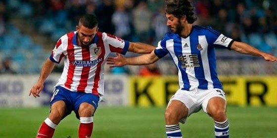 La Real Sociedad toma aire ante un Atleti, con diez, que acabó perdiendo por 2-1