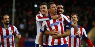 Mandzukic hace olvidar a Diego Costa y anota un hat-trick ante el Olympiacos de Míchel (4-0)