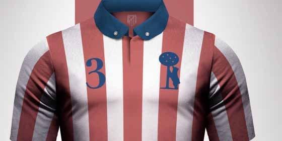 Así es la camiseta vintage que han diseñado para el Atlético de Madrid