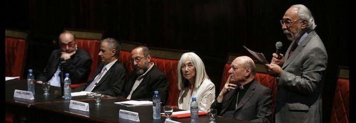 """""""Borges y la trascendencia"""", eje del Atrio de los Gentiles en Buenos Aires"""