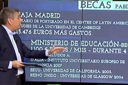 Casta universitaria: las codiciadas becas con dinero público que se llevó Pablo Iglesias