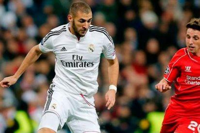 Benzema remata el pase a octavos de la Champions para el Real Madrid (1-0)