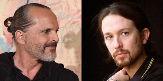 Losantos propone a Bosé para que le componga el himno a Pablo Iglesias: 'Aló Presidente'