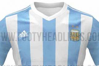 La camiseta de Argentina de la Copa de América