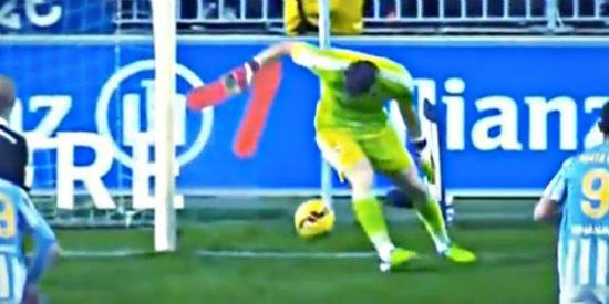 Vea la 'pifia' de Iker Casillas que pudo costar caro al Real Madrid en su partido con el Málaga