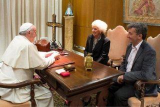 El Papa recibió a De Carlotto y su nieto Guido