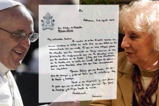 """Estela de Carlotto: """"Que la Iglesia colabore en la búsqueda de hijos desaparecidos"""""""