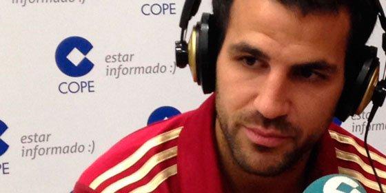 """Cesc Fábregas, calentito con la crítica de Ramos: """"Me jode que duden de mi compromiso con la Selección"""""""