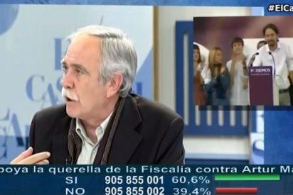 Pérez Henares da 'otra vuelta de 'Tuerka' a Podemos: