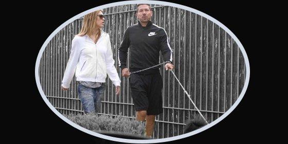 Simeone vuelve a presumir de su novia