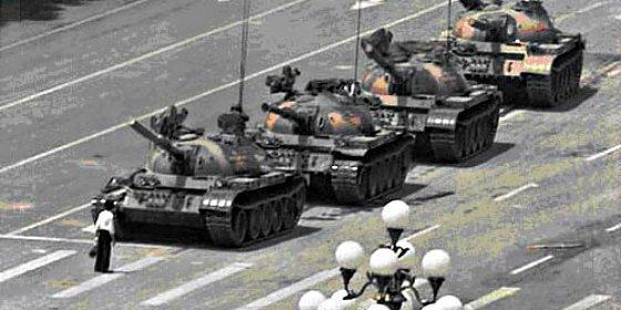 La fotografía que más impactó a Occidente: Tiananmen