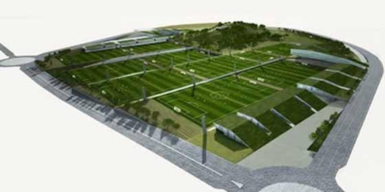 Así será la futura Ciudad Deportiva del Valencia