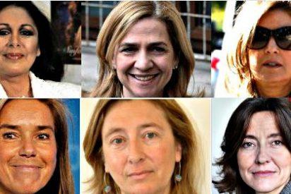 El dispar destino de las famosas 'esposadas' al político corrupto