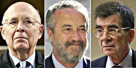 """Denuncian como """"colaboradores necesarios en un delito"""" a Arriola(PP), Rigol (CiU) y Serrano (PSOE)"""