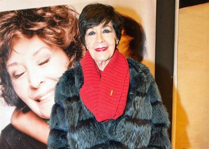 Concha Velasco, arropada por familiares y amigos en el estreno de 'Olivia y Eugenio'