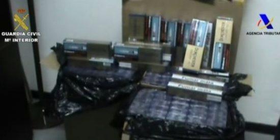 Detenidas 50 personas por contrabando de tabaco, la mitad de ellas en Galicia