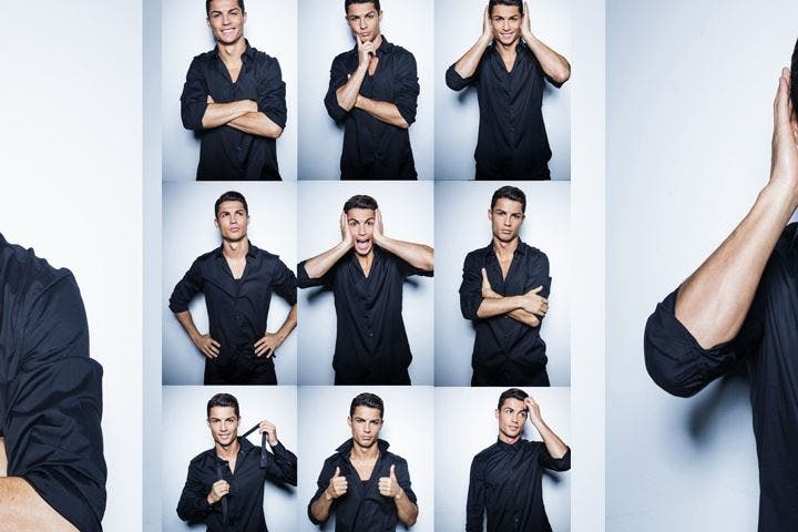 Cristiano Ronaldo se pasa al diseño de camisas para hombres
