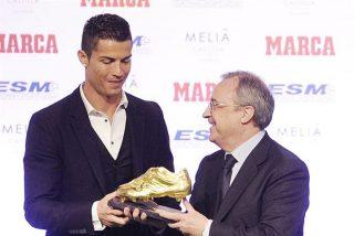 Cristiano Ronaldo recibe la 'Bota de Oro'