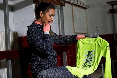 Cristina Pedroche desvela en exclusiva la camiseta de la San Silvestre Vallecana