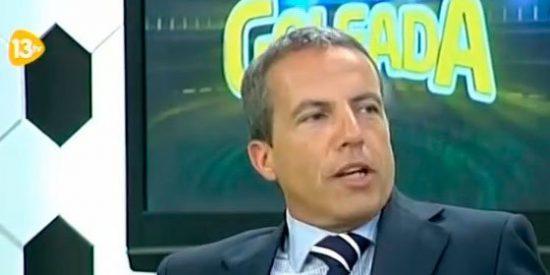 Cristóbal Soria dice adiós a La Goleada de 13TV y se irá a un programa deportivo de la competencia
