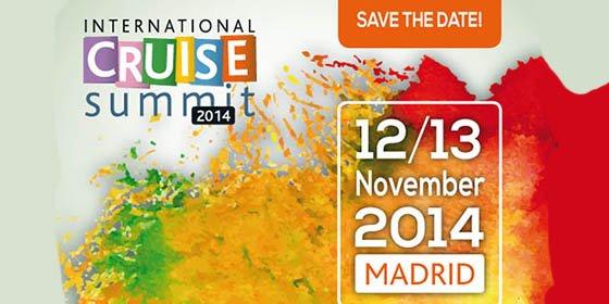 International Cruise Summit 2014, Madrid 12 y 13 de noviembre