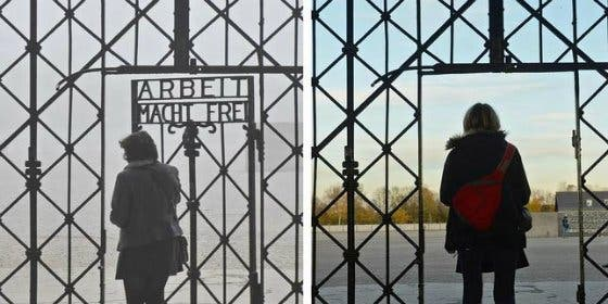 """Roban la puerta del campo de concentración nazi de Dachau: """"El trabajo os hará libres"""""""