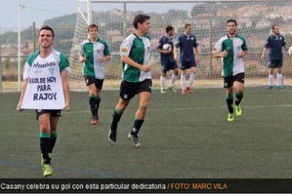 Aprovecha el 9-N para dedicar su gol a Rajoy