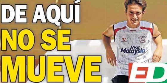 Denis Suárez quiere quedarse en el Sevilla