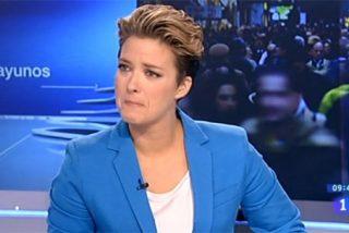 María Casado rompe a llorar al pedirle perdón a Curri Valenzuela en 'Los desayunos de TVE'