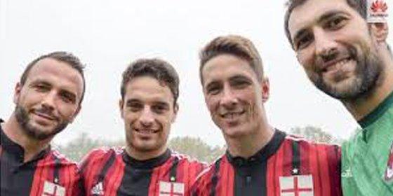 Debacle del Milan de Torres y Diego López en Italia