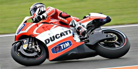 Ducati aprovecha el último test en Jerez para probar los neumáticos Michelin de 2016