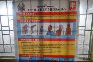 Manos Unidas apoya 11 proyectos de emergencia contra el ébola en Sierra Leona