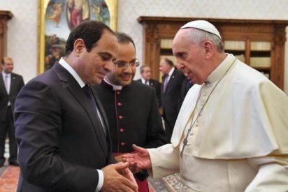 El Papa debate con el presidente de Egipto sobre el futuro de Oriente Medio