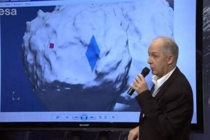 La sonda Philae entra en un profundo sueño tras enviar datos del cometa