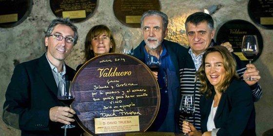 El Gran Wyoming y los hermanos Trueba unidos por el vino