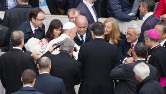 Ciudades teresianas presentan al Papa el proyecto 'Huellas de Santa Teresa'