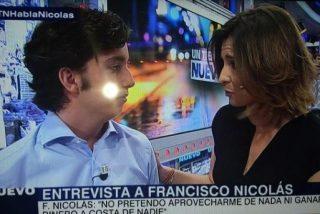 Y el 'Pequeño Nicolás' soltó una cifra y se fue en directo a Telecinco a contar cuentos