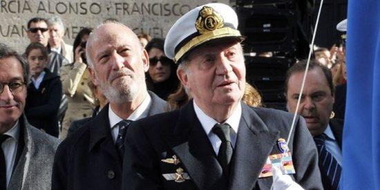 El Rey Juan Carlos I vuelve a reaparecer en el homenaje a Blas de Lezo en Madrid