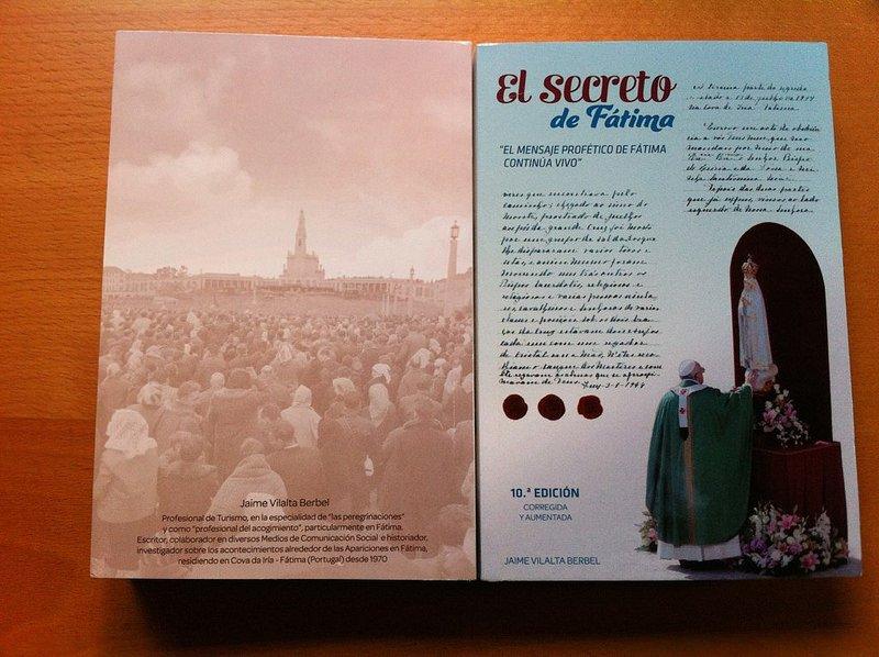 El libro sobre 'El secreto de Fátima' alcanza la décima edición