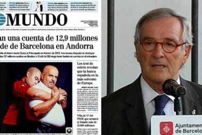 ABC le da un soberano palo a El Mundo por no contrastar la información sobre la cuenta suiza de Xavier Trías