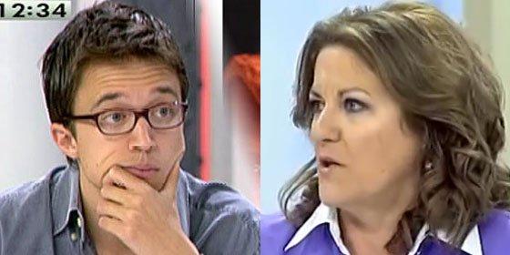 Trujillo hace el ridículo más espantoso en 'El Cascabel' defendiendo al niño pera de Podemos