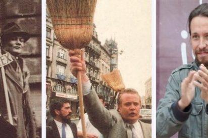 Pablo Iglesias pide prestada al fascista Degrelle la escoba para barrer la corrupción