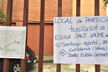 Cataluña: Los objetores del 9-N encuentran en Hospitalet a su primera heroína del día