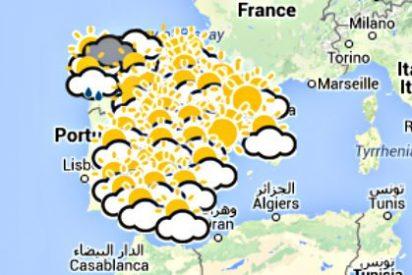 Este fin de semana bajan las temperaturas y el lunes 3 noviembre 2014 comenzará el otoño real en España
