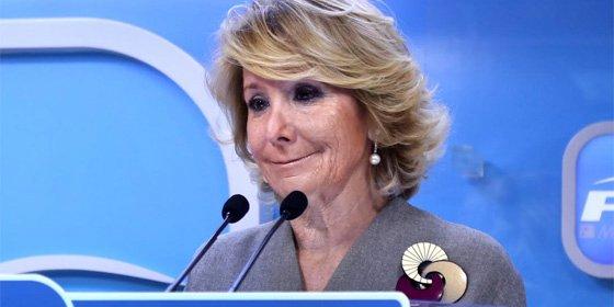Los votantes del PP quieren a Esperanza Aguirre de alcaldesa de Madrid
