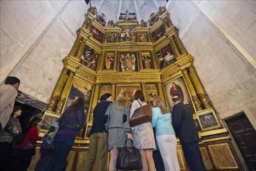 """""""Eucharistia"""" se despide con 301.000 visitantes y gran repercusión en Aranda"""