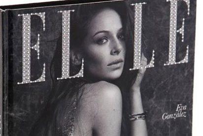 Eva González posa cubierta de cristales de Swarovski para la portada de Elle