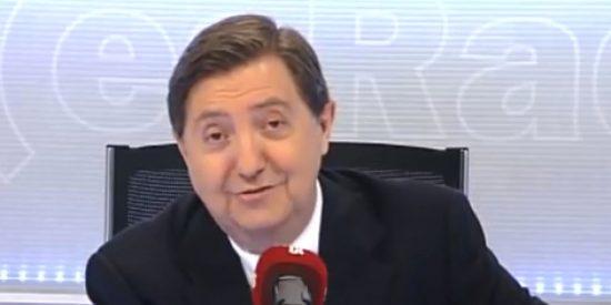 """Losantos: """"Errejón es el pequeño Nicolás de Podemos, y Monedero se corta el pelo con un hacha"""""""