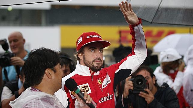 Al Rey Juan Carlos se le escapa dónde correra Alonso la próxima temporada
